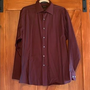 Men's Claiborne wrinkle free modern fit shirt-L